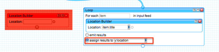 yahoo pipe location builder