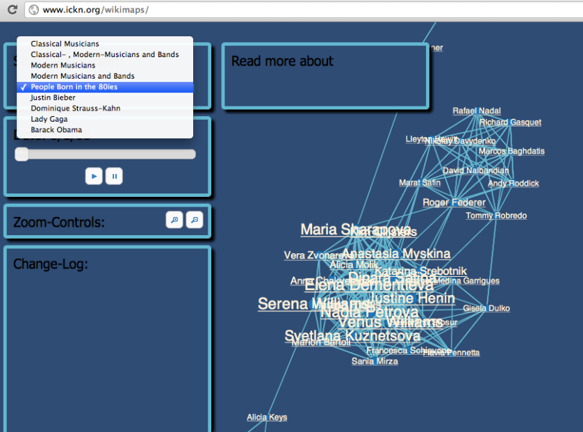 Visualising Related Entries in Wikipedia Using Gephi – OUseful Info