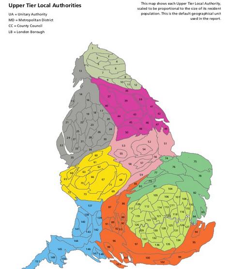CMO cartogram