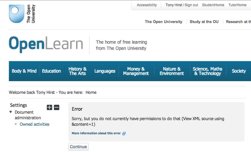 openlearn closed