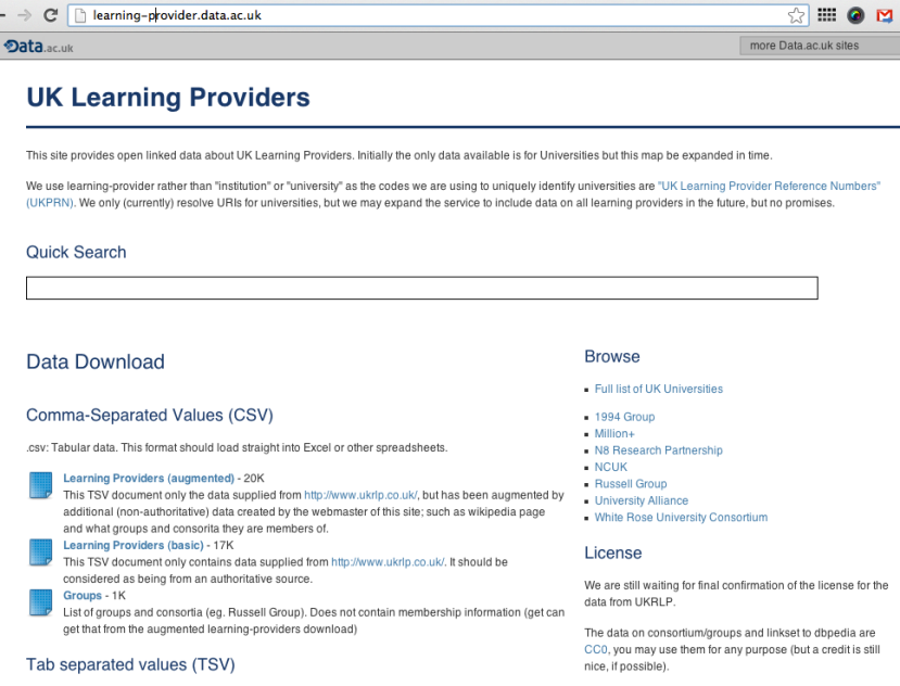 learning providers