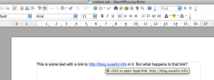google doc export as odt