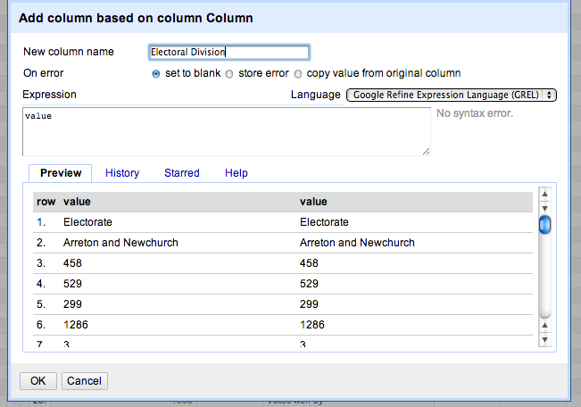 Create new col as copy of old