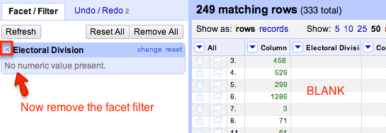 filter update