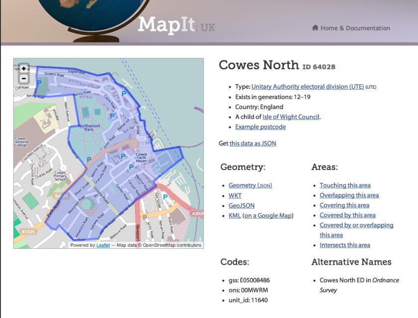 Mapit Geometry