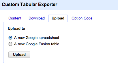 OPen Refine export to google