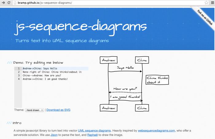 Jssequencediagrams