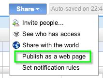 publishAsWebpage