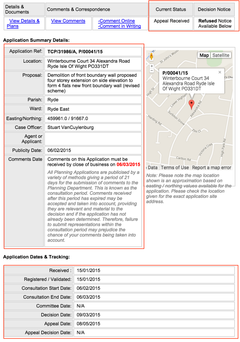 Isle_of_Wight_Council_-_Planning_Application_Details