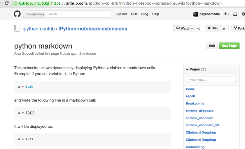 python_markdown