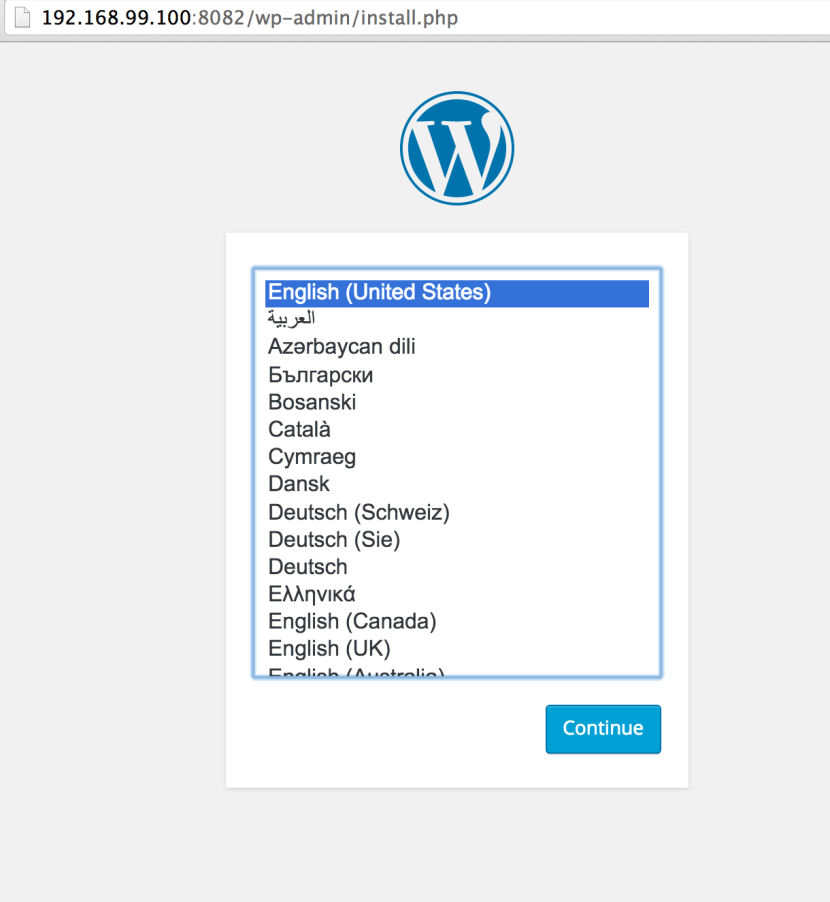 WordPress_›_Installation
