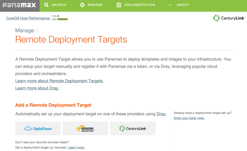 Panamax___Remote_Deployment_Targets