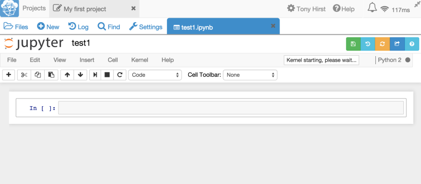 how to delete a cell in jupyter notebook