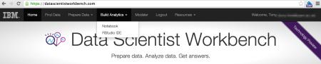 Data_Scientist_Workbench