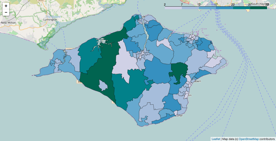 Grabbing Screenshots of folium Produced Choropleth Leaflet Maps from