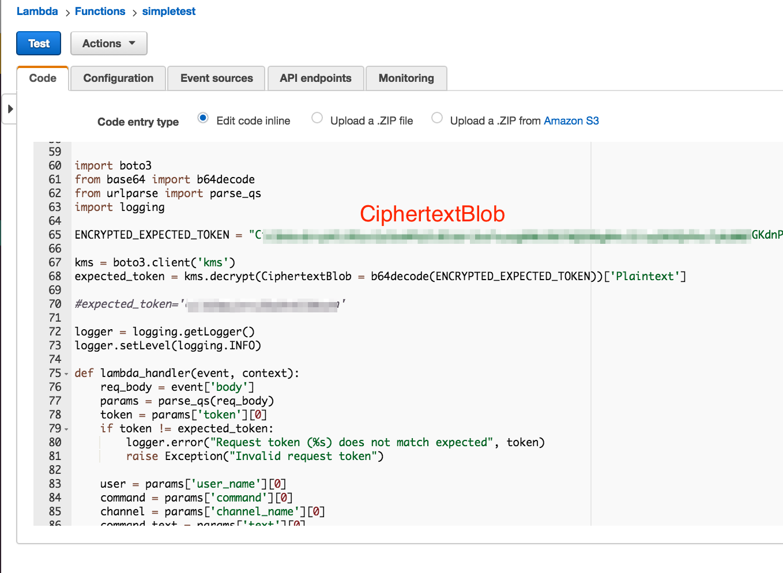 Implementing Slash Commands Using Amazon Lambda Functions