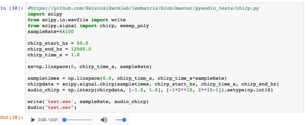 Making Music and Embedding Sounds in Jupyter Notebooks