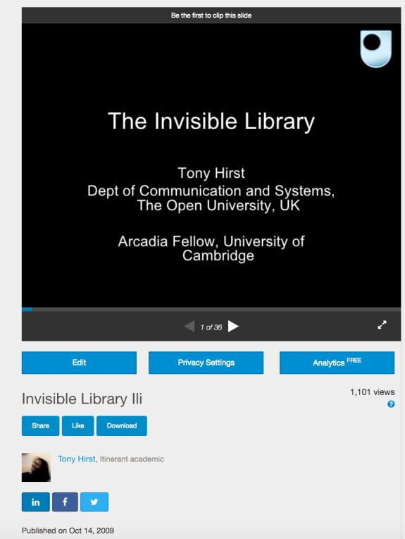 Library – OUseful Info, the blog…