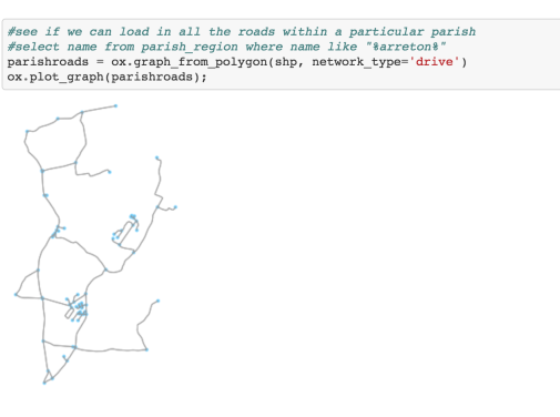 Working With OpenStreetMap Roads Data Using osmnx – OUseful Info
