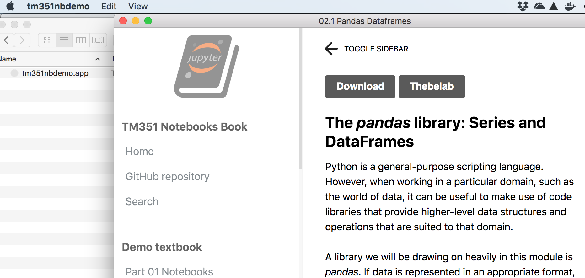 Fragment – Jupyter Book Electron App – OUseful Info, the blog…